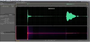 Analyse du fichier .wav généré par le simulateur.