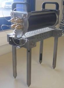 Vue du nouveau prototype de célérimètre INSEA2